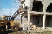 برخورد بیرحمانه با متخلفین ساخت و سازهای غیرمجاز